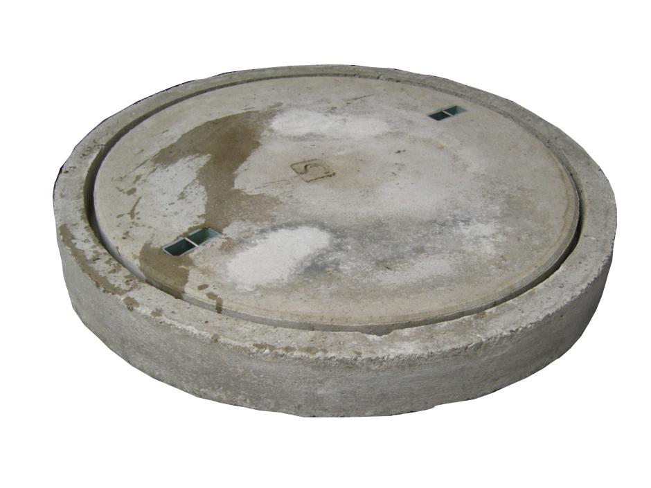 Betonabdeckung begehbar mit Betonrahmen für Konus 625 mm ...
