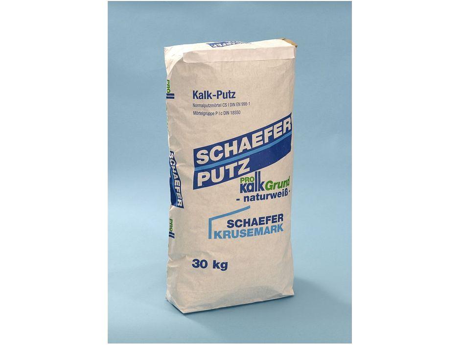 schaefer prokalk grund 30 kg sa kalk putz unterputze spachtel baugipse putze sack. Black Bedroom Furniture Sets. Home Design Ideas