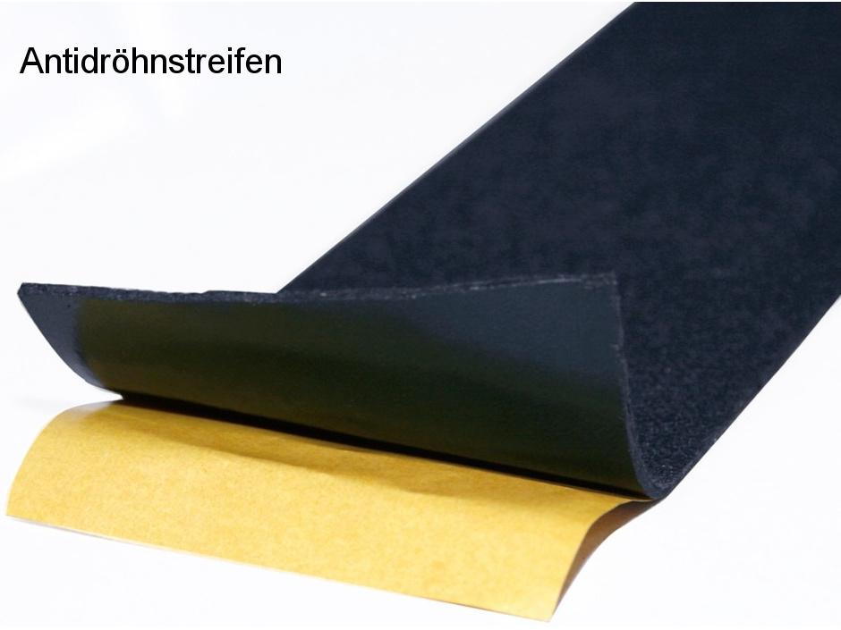 Antidröhnstreifen Selbstkleb 80x1000 Mm Lose Für Aluminium